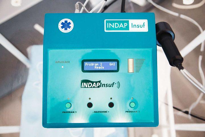 INDAP-INSUF аппарат для карбокситерапии